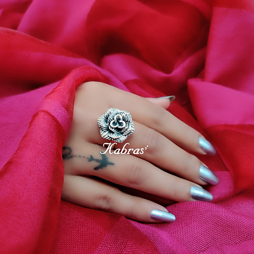 Stripped Rose Ring