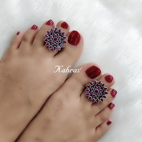 Ruby Flower Toering