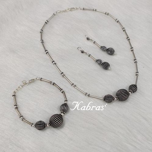 Ball Beauty Necklace Set