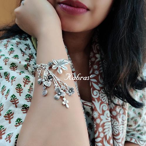 Maple Leaf Charm Bracelet