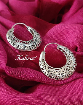 Loops - Bali - Silver Loops - Silver Bali - Silver Earrings - Pure Silver Jewellery - Sterling Silver