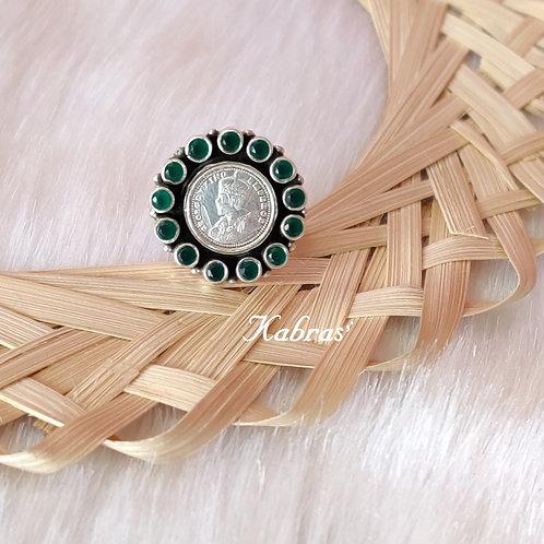 Green King George Ring