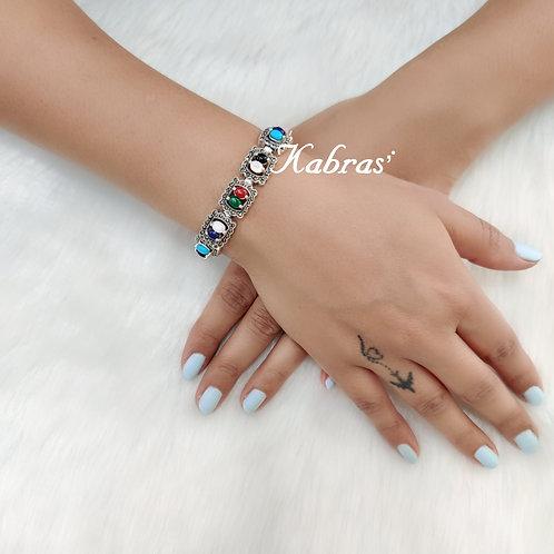 Multicolored Marcasite Bracelet