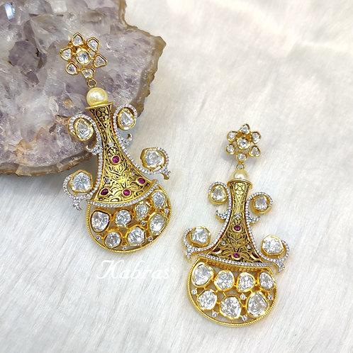 Flower Vase Earrings