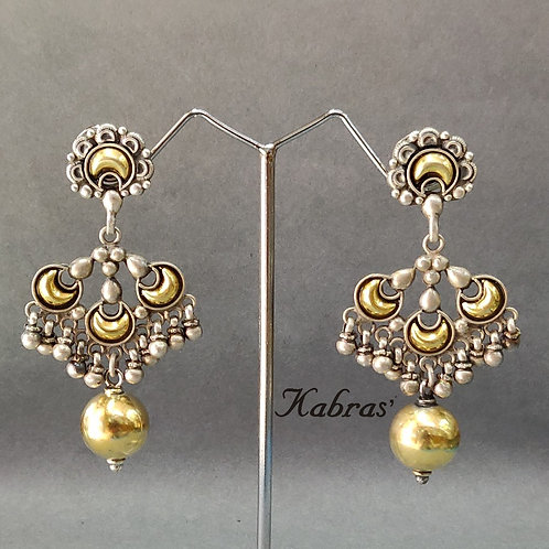 GJ Floral Drop Earrings