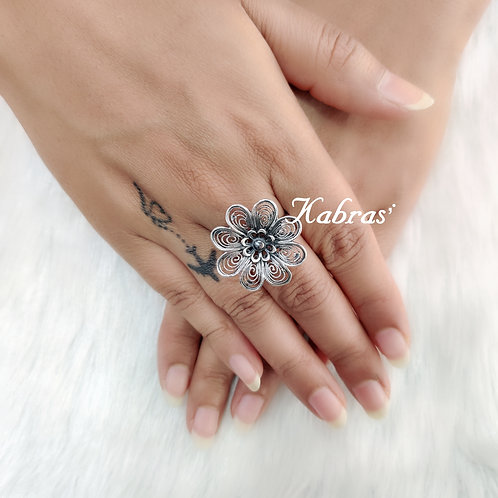 Quilled Ring