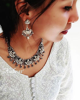 Silver Necklaces - Antique Sterling Silver - Antique Necklaces - Kemp Jewellery - Unique Necklaces - Everyday Necklaces