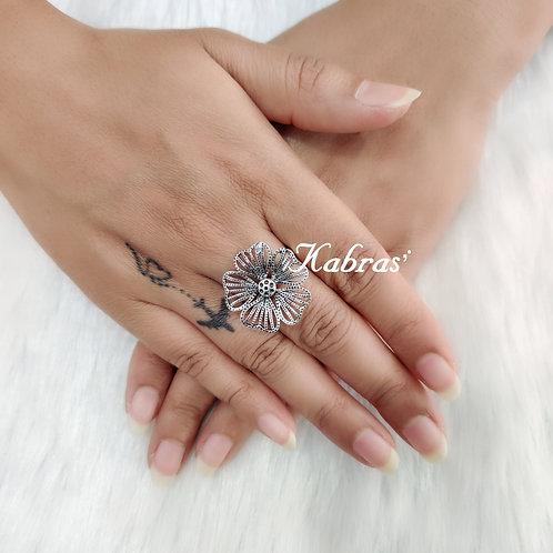 Flat Marigold Ring