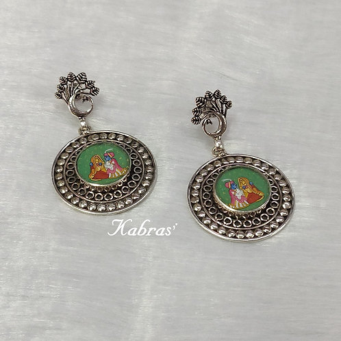 Mayur Pichwai Earrings