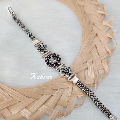 Multi Cut Stone Bracelet