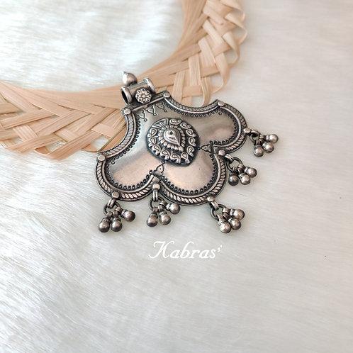 Curled Fan Pendant
