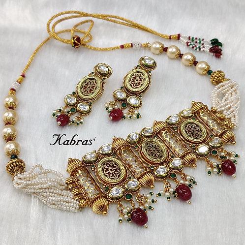 Thewa Choker Necklace