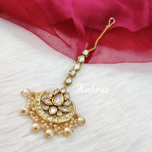 Lotus Maang Tikka