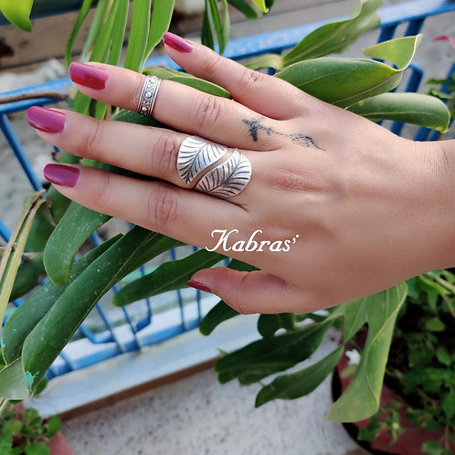 Quilled Leaf Ring
