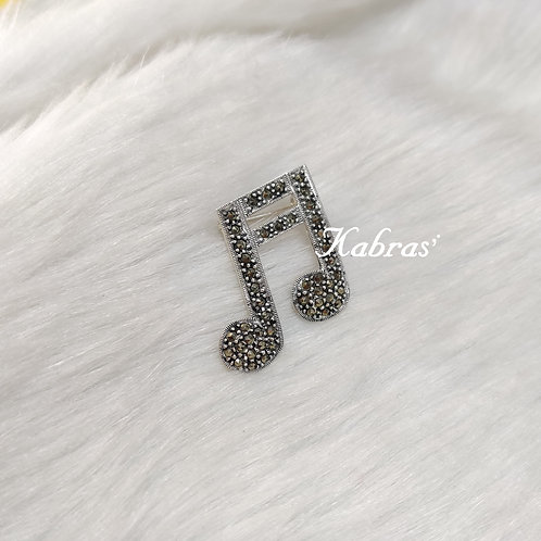 Musical Brooch