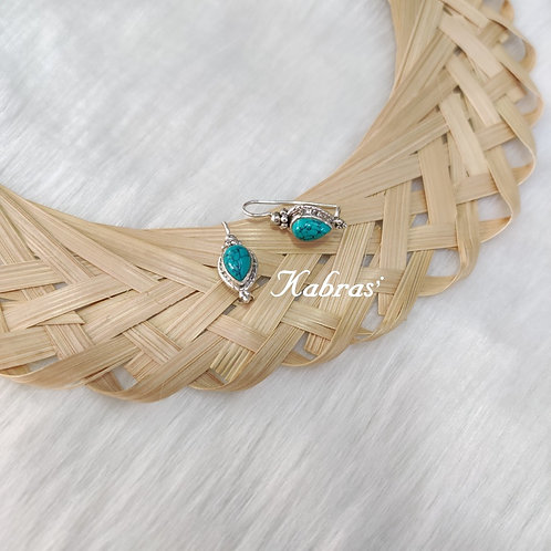 Turquoise Drop Dangler