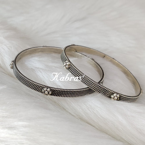 Floral Rope Bangles