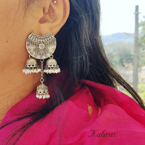 Chand Pearl Jhumka