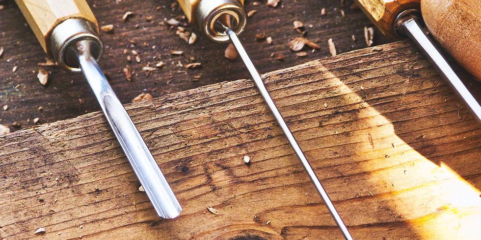 Schale oder Relief aus Arvenholz schnitzen
