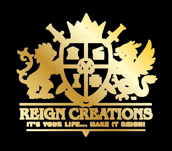 Reign Creations COA Final Gold Gradient