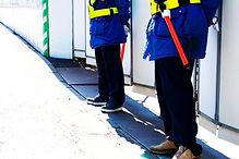 工事現場警備