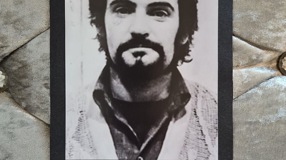 "Peter Sutcliffe (Peter William Coonan) ""Yorkshire Ripper"" Signed Display"