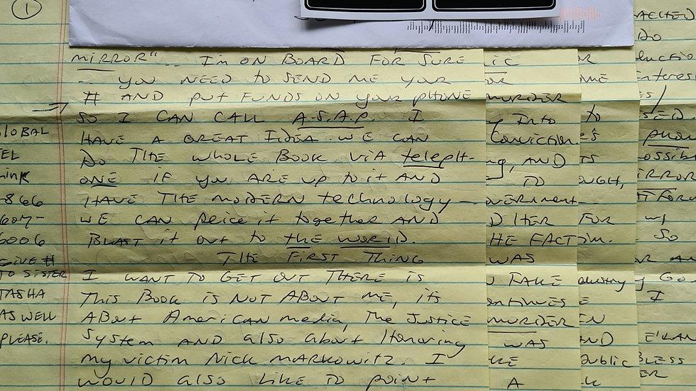 Jesse James Hollywood 4 Page Letter & Envelope Set