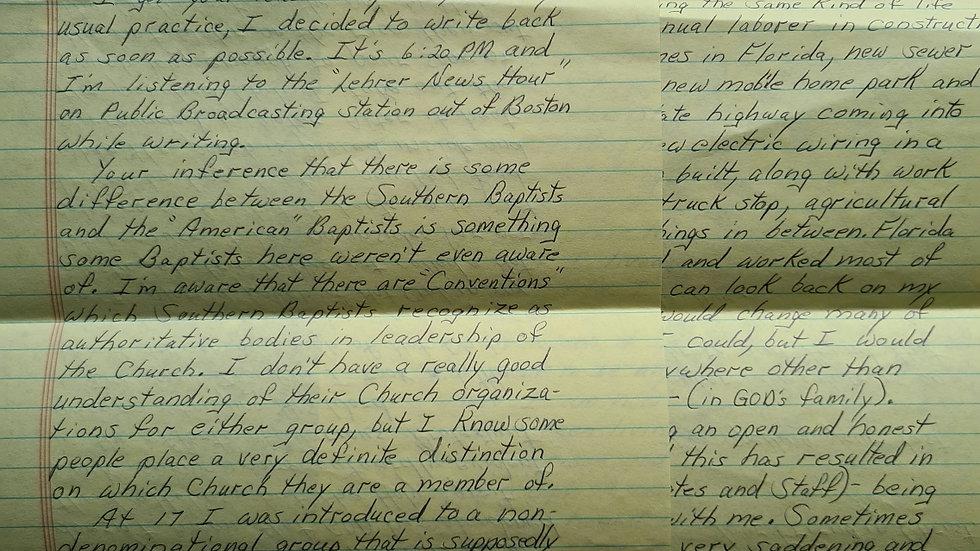 Lewis Lent 2 Page Letter & Envelope Set