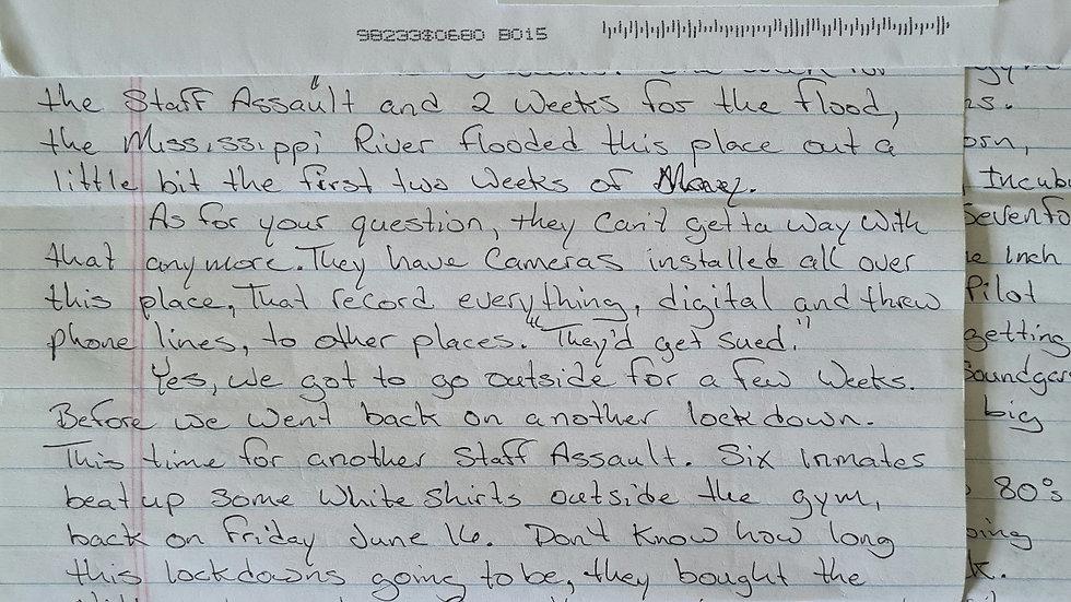 Timothy Buss Letter & Envelope Set