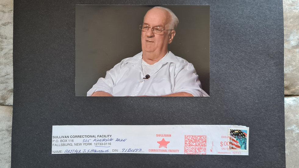 "Arthur John Shawcross ""Genesee River Killer"" Signed Display"