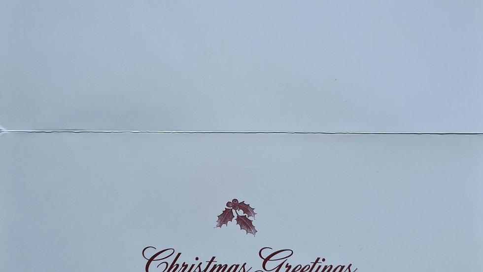Willie Branner Christmas Card