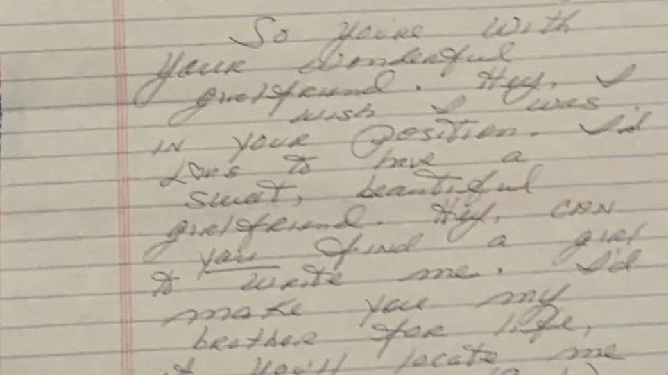Paul Reid Letter & Envelope Set