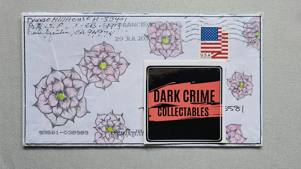 Danny Hillhouse Artwork Envelope