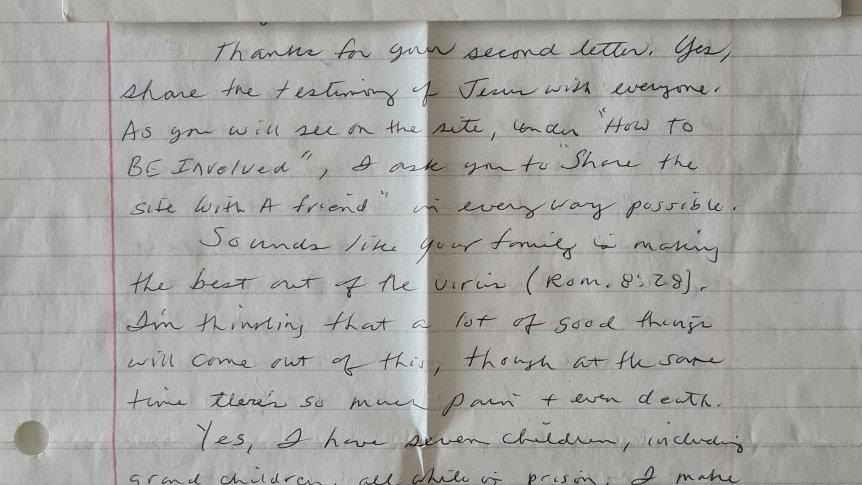 "Tex Watson ""Manson Family"" Letter & Envelope Set"