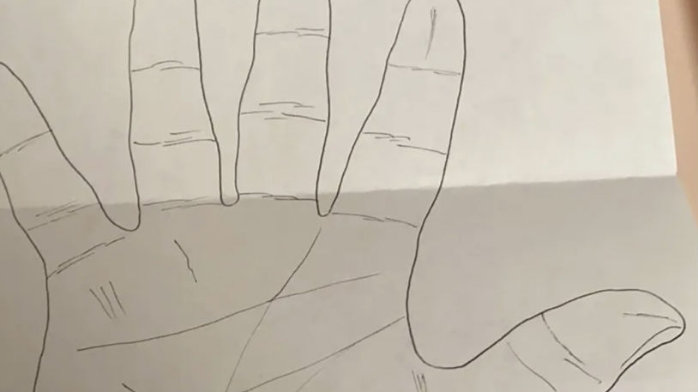 Robert Lee Yates Left & Right Hand Tracing