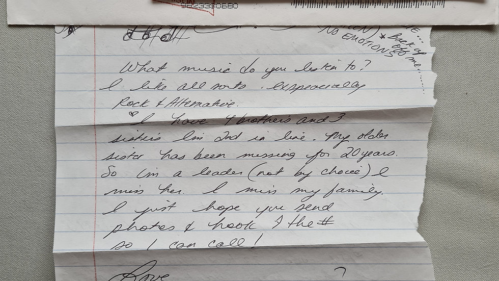 Rennie Pratt Letter & Envelope Set