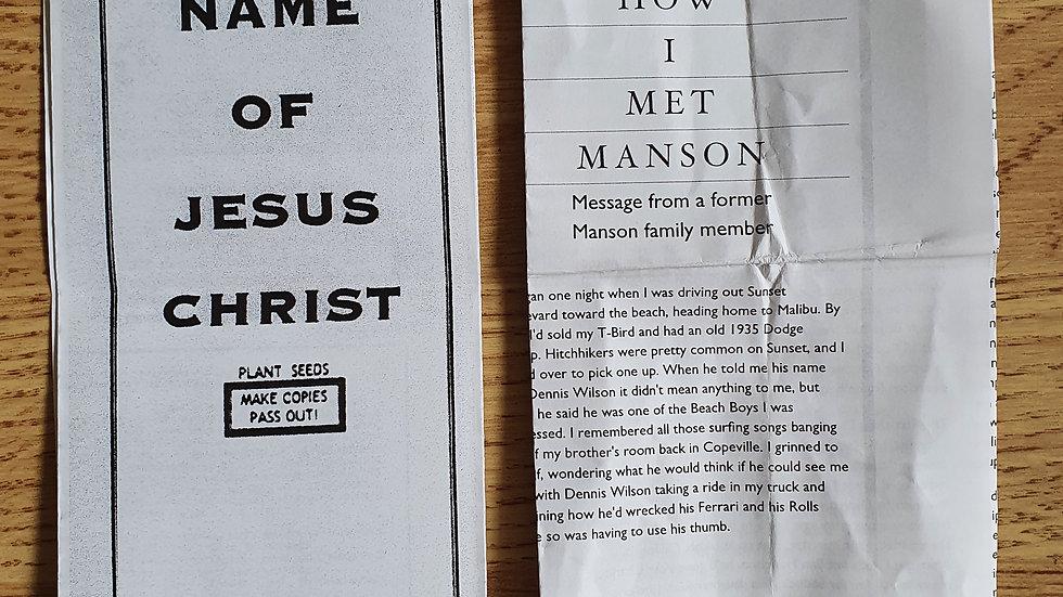 2 Tex Watson Pamphlets
