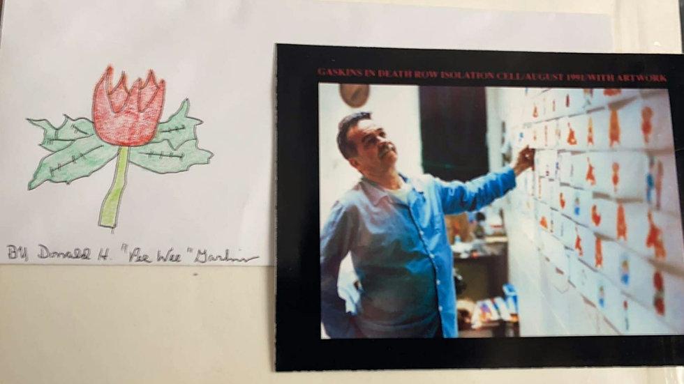 "Donald ""Pee Wee"" Gaskins Envelope Artwork"
