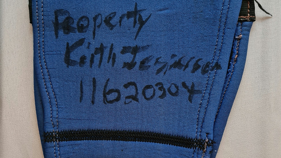 "Keith Jesperson ""Happy Face Killer"" Owned Signed Knee Brace"