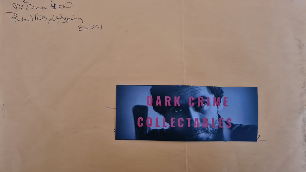 Diazien Hossencofft Handwritten Large Envelope