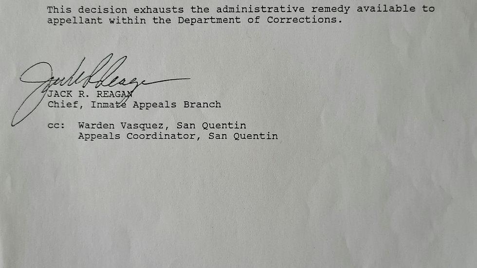 "Lawrence Bittaker ""Toolbox Killer"" Signed Document"