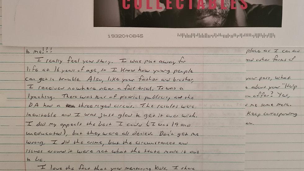"Luke Woodham ""Pearl High Shooting"" Letter"