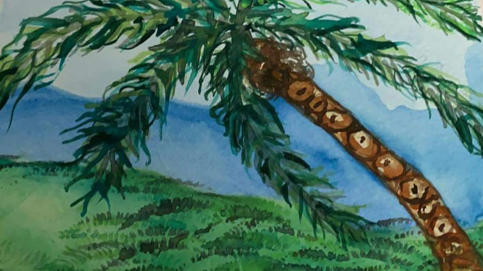 Dana Sue Gray Postcard Painting