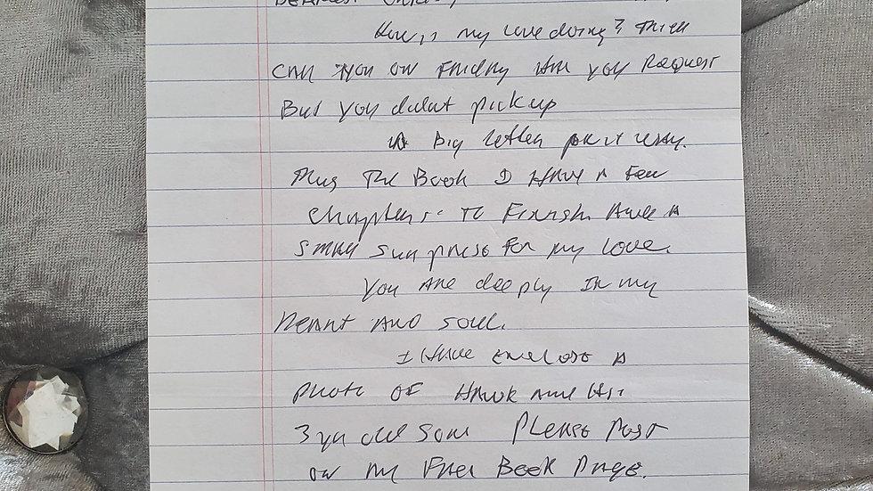 Phillip Jablonski Letter