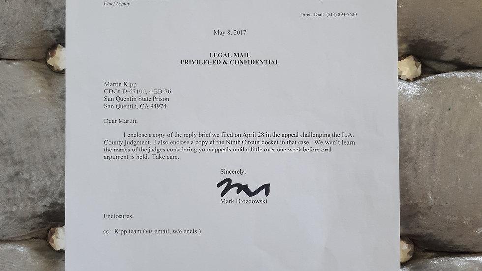 Martin Kipp Legal Document