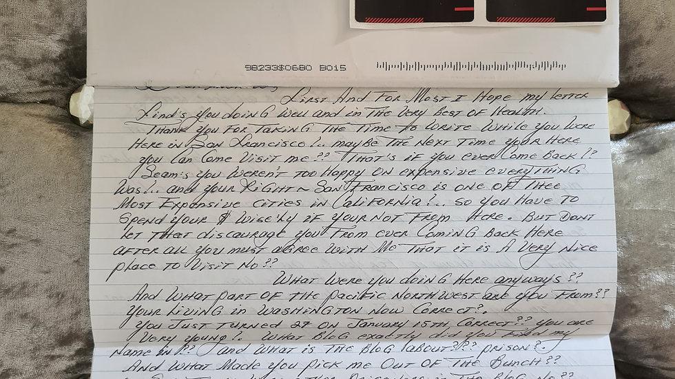 Ruben Gomez Letter & Postcards