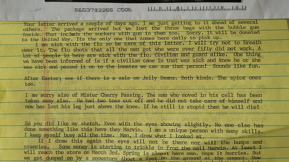 """Arthur John Shawcross """"Genesee River Killer"""" Letter & Envelope Set"""