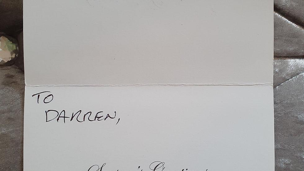 "Jeremy Bamber ""White House Farm Murders"" Christmas Card"