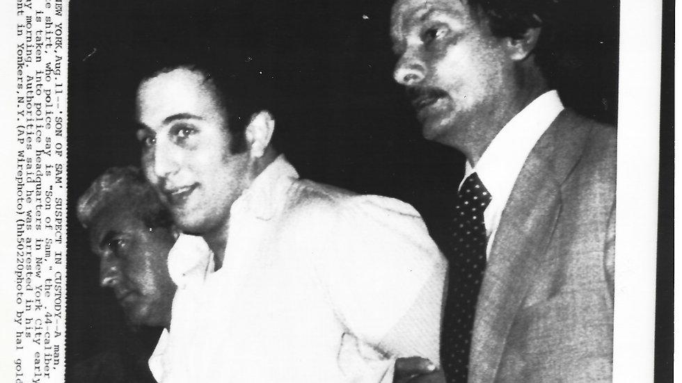 "David Berkowitz ""Son Of Sam"" Original 1978 Press Photo"