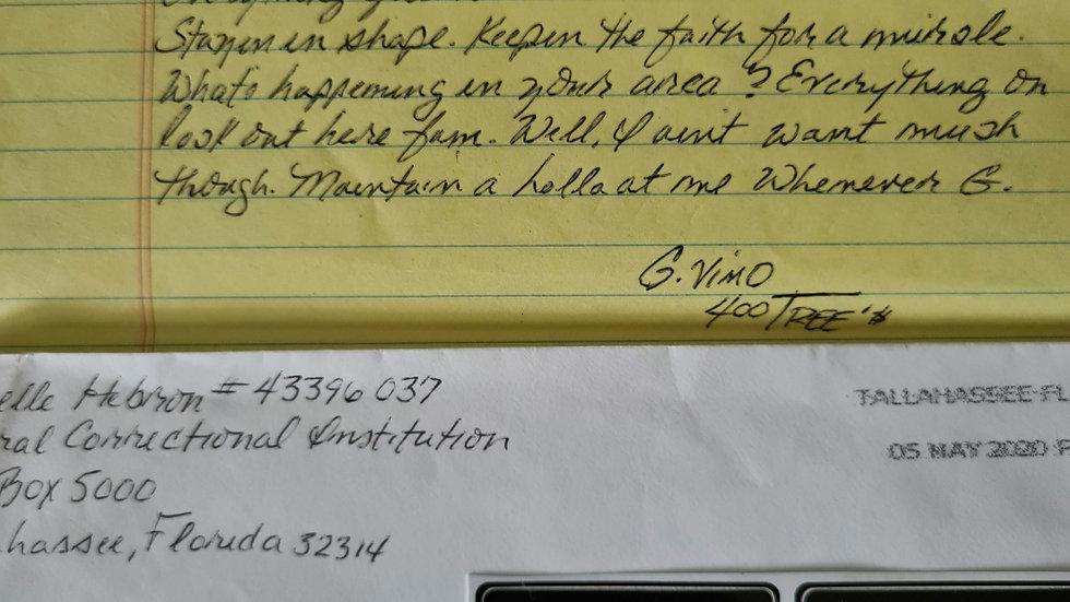 "Michelle Hebron ""Michelle Hell"" Letter & Envelope Set"